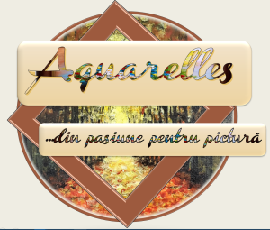 "Logo blog ""Aquarelles"""